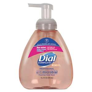 DIAL PROFESSIONAL Antibacterial Foaming Hand Wash, Original Scent, 15.2 oz Pump Bottle