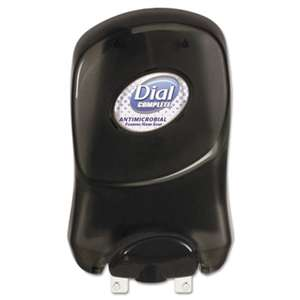 DIAL PROFESSIONAL Duo Touch-Free Dispenser, 1250mL, Smoke