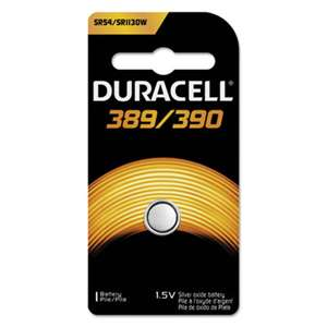 Duracell MND389BPK Silver Oxide 389/390 Medical Battery, 1.5V