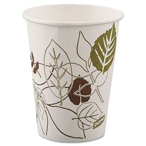 DIXIE FOOD SERVICE Pathways Paper Hot Cups, 8oz, 25/ Pack, 25/Pack