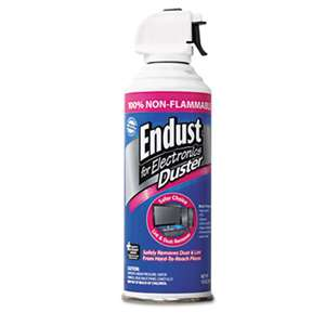 ENDUST Compressed Gas Duster, 10oz Can