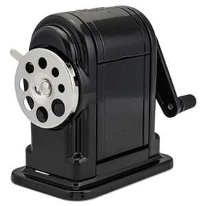 ELMER'S PRODUCTS, INC. Ranger 55 Classroom Manual Pencil Sharpener, Black