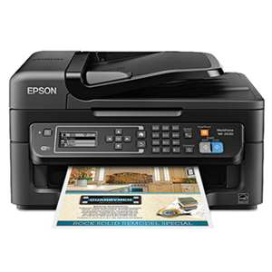 EPSON AMERICA, INC. WorkForce WF-2630 AIO Printer, Black