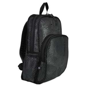 EASTSPORT, INC. Mesh Backpack, 12 x 5 1/2 x 17 1/2, Black