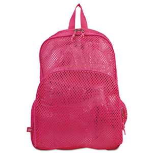 EASTSPORT, INC. Mesh Backpack, 12 x 5 x 18, Pink