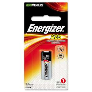 Energizer A23BPZ Watch/Electronic Battery, Alkaline, A23, 12V, MercFree