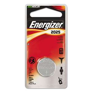 Energizer ECR2025BP Watch/Electronic/Specialty Battery, 2025