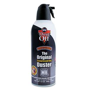 FALCON SAFETY Disposable Compressed Gas Duster, 12 oz Can