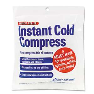FIRST AID ONLY, INC. Cold Compress, 4 x 5