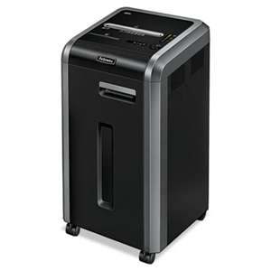 FELLOWES MFG. CO. Powershred 225i 100% Jam Proof Strip-Cut Shredder, 20 Sheet Capacity