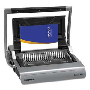 Fellowes 5218201 Galaxy Comb Binding System, 500 Sheets, 20 7/8 x 17 3/4 x 6 1/2, Gray