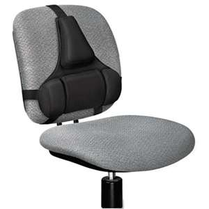 FELLOWES MFG. CO. Professional Series Back Support, Memory Foam Cushion, Black