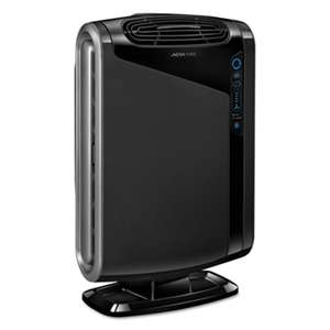 FELLOWES MFG. CO. Air Purifiers, HEPA and Carbon Filtration, 300-600 sq ft Room Capacity, Black