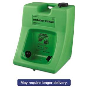 HONEYWELL ENVIRONMENTAL Fendall Porta Stream II Eye Wash Station with Water Additive