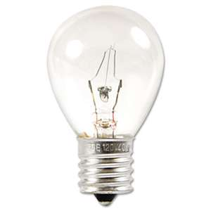 GENERAL ELECTRIC CO. Incandescent Globe Bulb, 40 Watts