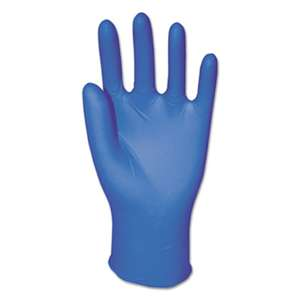 GENERAL SUPPLY General Purpose Nitrile Gloves, Powder-Free, Medium, Blue, 3.8 mil, 1000/Carton