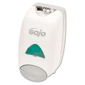 GO-JO INDUSTRIES Liquid Foaming Soap Dispenser, 1250mL, 6 1/8w x 5 1/8d x 10 1/2h, Gray/White
