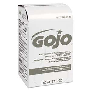 GO-JO INDUSTRIES Ultra Mild Lotion Soap w/Chloroxylenol Refill, Floral Balsam, 800mL