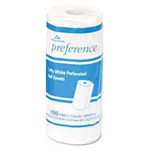 Georgia Pacific Professional 27300RL Perforated Paper Towel Roll, 11 x 8 7/8, White, 100 Sheets/Roll