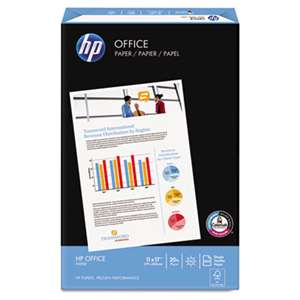 HEWLETT PACKARD COMPANY Office Ultra-White Paper, 92 Bright, 20lb, 11 x 17, 500/Ream