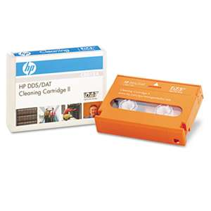 HEWLETT PACKARD COMPANY DAT/DDS Cleaning Cartridge II, 50 Uses