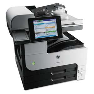 HEWLETT PACKARD LaserJet Enterprise MFP M725dn Multifunction Laser Printer, Copy/Print/Scan