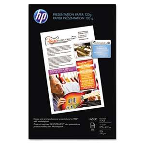HEWLETT PACKARD COMPANY Color Laser Presentation Paper, 95 Brightness, 34lb, 11 x 17, White, 250/Pack