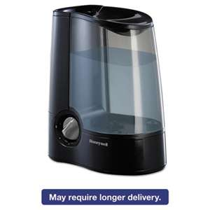 HONEYWELL ENVIRONMENTAL Warm Mist Humidifier, Black, 12 7/10w x 7 1/2d x 12 1/5h
