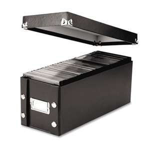 IDEASTREAM CONSUMER PRODUCTS Media Storage Box, Holds 60 Slim/30 Standard Cases