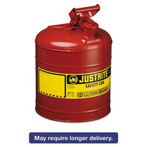 JUSTRITE MFG CO Safety Can, Type I, 5gal, Red