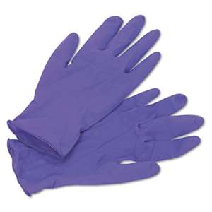 KIMBERLY CLARK PURPLE NITRILE Exam Gloves, Medium, Purple, 100/Box