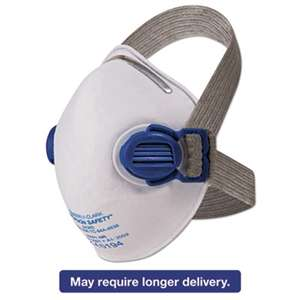 KIMBERLY CLARK R10 Particulate Respirator, N95, White w/Gray Straps, 10/Box