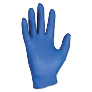 KIMBERLY CLARK G10 Nitrile Gloves, Large, Artic Blue, 200/Box