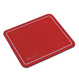 Kelly Computer Supply 81108 SRV Optical Mouse Pad, Nonskid Base, 9 x 7-3/4, Red
