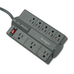 ACCO BRANDS, INC. Guardian Premium Surge Protector, 8 Outlets, 6 ft Cord, 1080 Joules, Gray