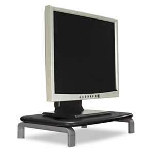 ACCO BRANDS, INC. Monitor Stand with SmartFit System, 11 1/2 x 9 x 5, Black/Gray