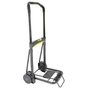 KANTEK INC. Ultra-Lite Folding Cart, 250lb Capacity, 11 x 13 1/4 Platform, Black