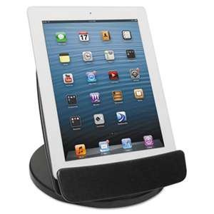 KANTEK INC. Rotating Desktop Tablet Stand, Black