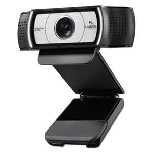 LOGITECH, INC. C930e HD Webcam, 1080p, Black