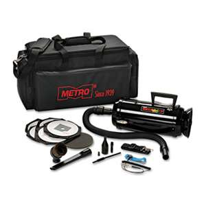 DATA-VAC Metro Vac Anti-Static Vacuum/Blower, Includes Storage Case HEPA & Dust Off Tools