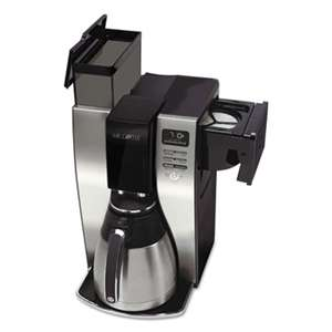 JARDEN CORPORATION Optimal Brew 10-Cup Thermal Programmable Coffeemaker, Black/Brushed Silver