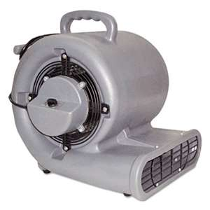 MERCURY FLOOR MACHINES Air Mover, 3-Speed, 1/2hp, 1150rpm, 1500cfm