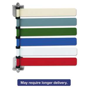 MEDLINE INDUSTRIES, INC. Room ID Flag System, 6 Flags, Primary Colors