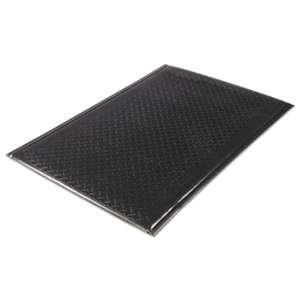 MILLENNIUM MAT COMPANY Soft Step Supreme Anti-Fatigue Floor Mat, 36 x 60, Black