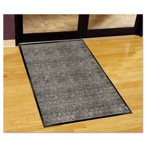 MILLENNIUM MAT COMPANY Silver Series Indoor Walk-Off Mat, Polypropylene, 48 x 72, Pepper/Salt