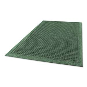 MILLENNIUM MAT COMPANY EcoGuard Indoor/Outdoor Wiper Mat, Rubber, 36 x 60, Charcoal