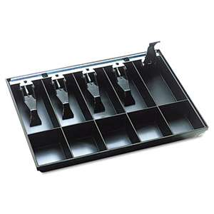 MMF INDUSTRIES Cash Drawer Replacement Tray, Black