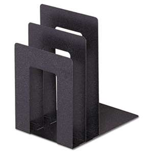 MMF INDUSTRIES Soho Bookend With Squared Corners, 5w X 7d X 8h, Granite