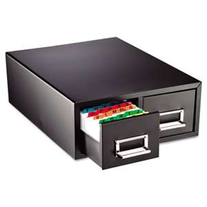 "MMF INDUSTRIES Drawer Card Cabinet Holds 3,000 3 x 5 cards, 12 5/16"" x 16"" x 5 3/16"""