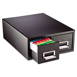 "MMF INDUSTRIES Drawer Card Cabinet Holds 3,000 5 x 8 cards, 18 2/5"" x 16"" x 7 1/4"""